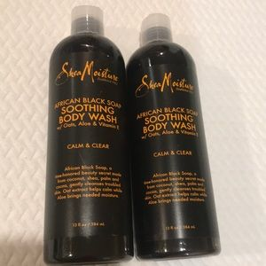 Sealed 2 Shea Moisture African Soothing Body Wash